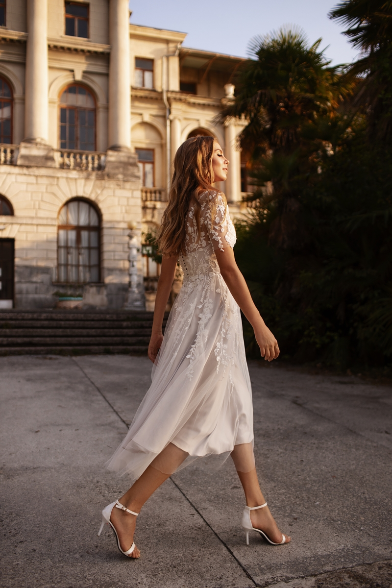 Ultra-Stylish New Wedding Dresses By Mila Bridal (For Under 1000) – Goldie Dress – Bridal Musings 2