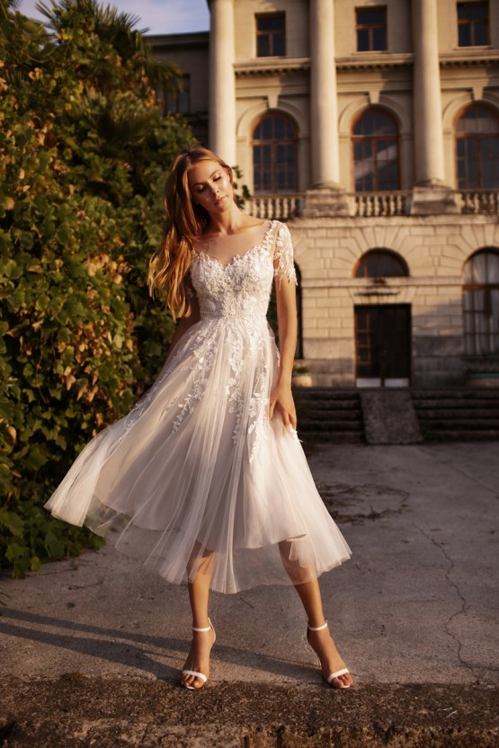 Ultra-Stylish New Wedding Dresses By Mila Bridal (For Under 1000) – Goldie Dress – Bridal Musings 4