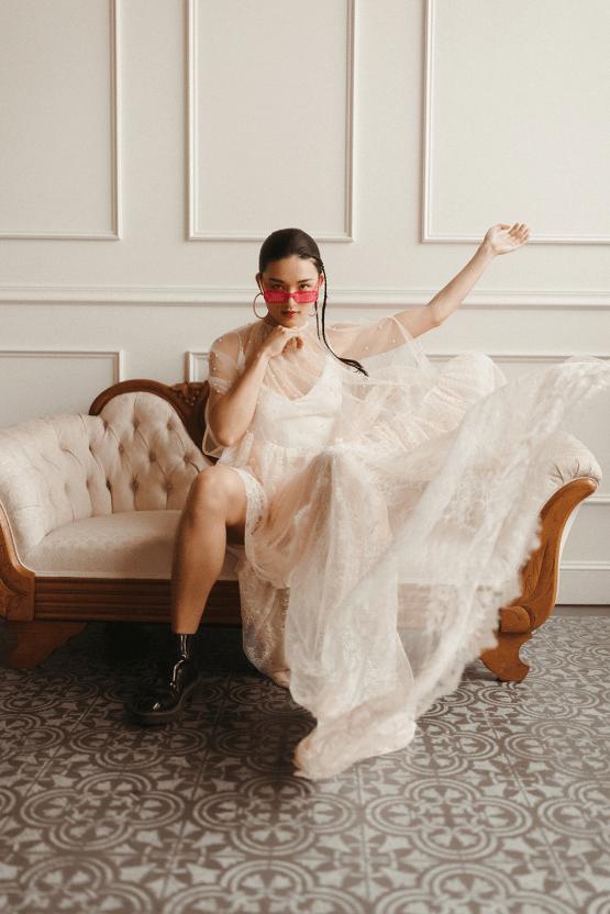 Cool Anti Bride Wedding Inspiration with Colorful Wedding Dresses – Naba Zabih – Claire La Faye – Bridal Musings 34