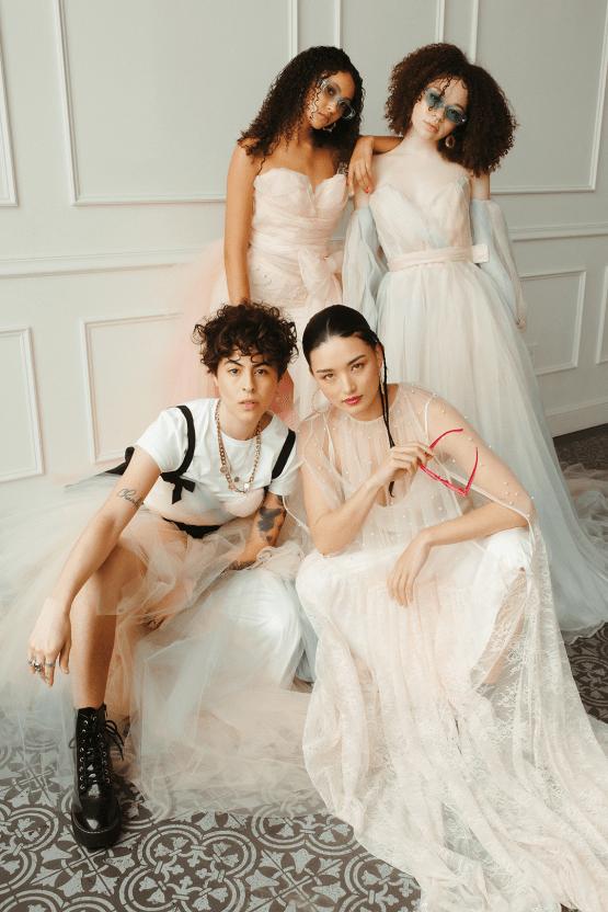 Cool Anti Bride Wedding Inspiration with Colorful Wedding Dresses – Naba Zabih – Claire La Faye – Bridal Musings 43
