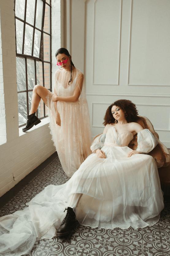 Cool Anti Bride Wedding Inspiration with Colorful Wedding Dresses – Naba Zabih – Claire La Faye – Bridal Musings 48