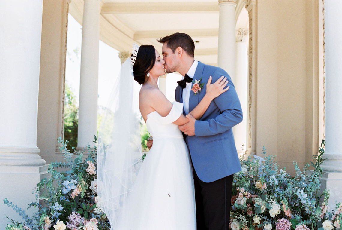 Fancy Southern Wedding Inspiration at Balboa Park in San Diego – iamlatreuo Photo 2