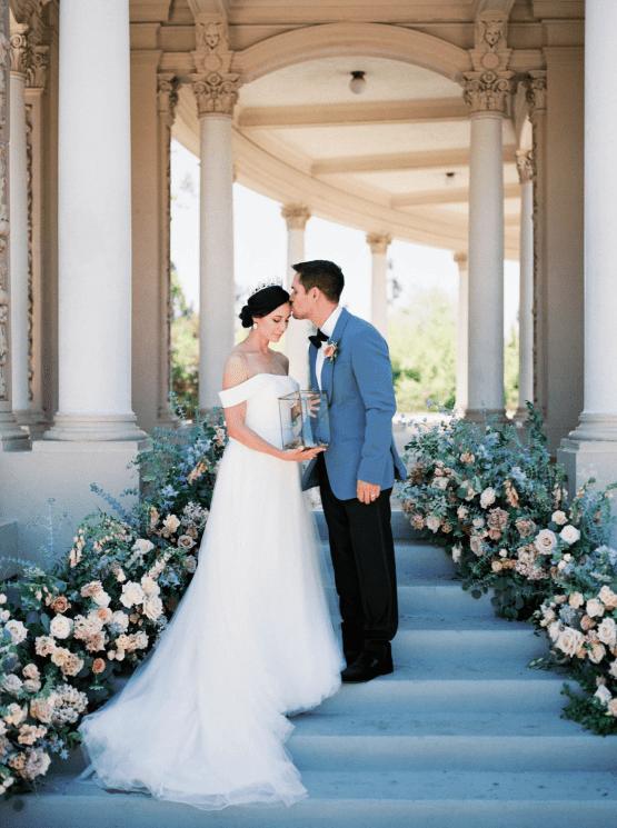 Fancy Southern Wedding Inspiration at Balboa Park in San Diego – iamlatreuo Photo 61