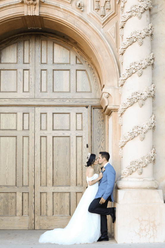 Fancy Southern Wedding Inspiration at Balboa Park in San Diego – iamlatreuo Photo 98
