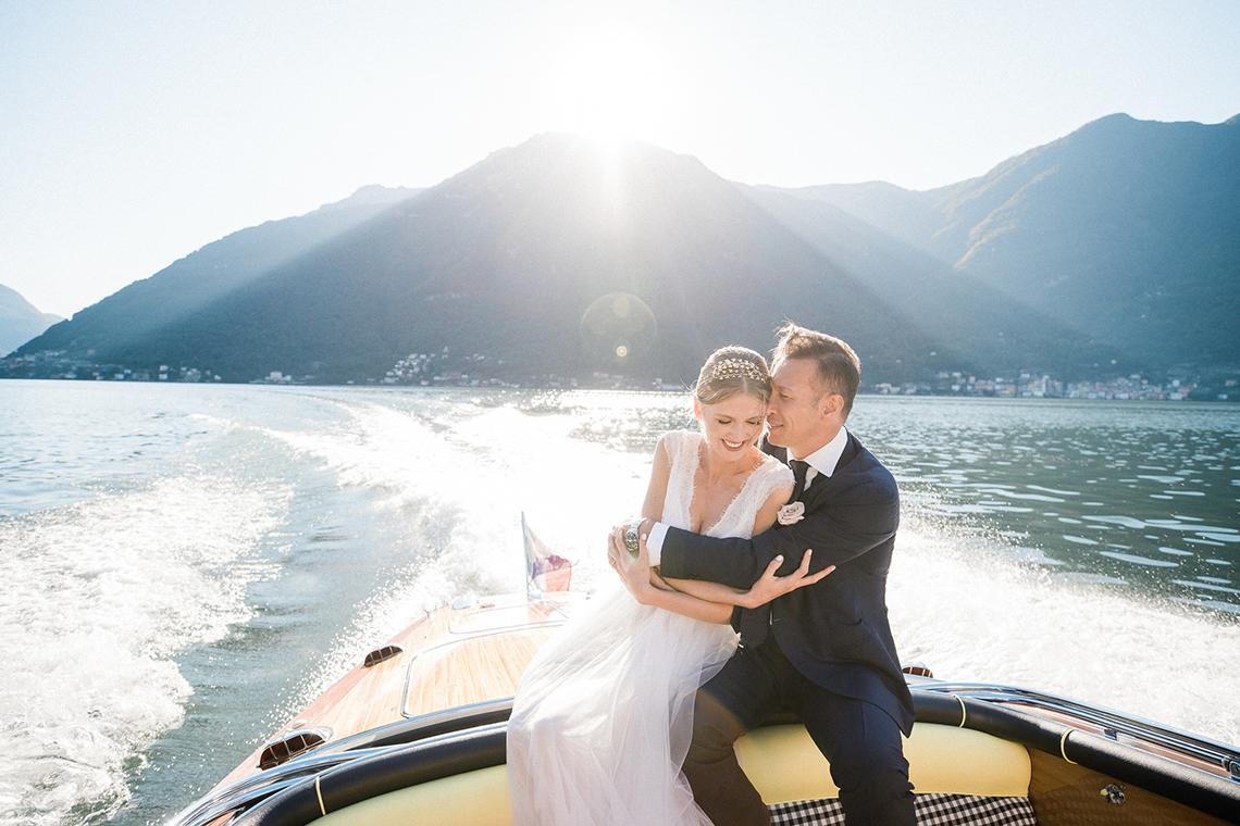 Romantic Something Blue Micro Wedding filled with Hydrangeas at Villa Ortensia in Lake Como – Alessandro Colle e Serena Rossi 10