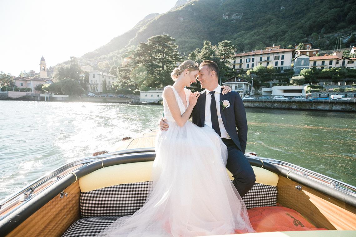 Romantic Something Blue Micro Wedding filled with Hydrangeas at Villa Ortensia in Lake Como – Alessandro Colle e Serena Rossi 9