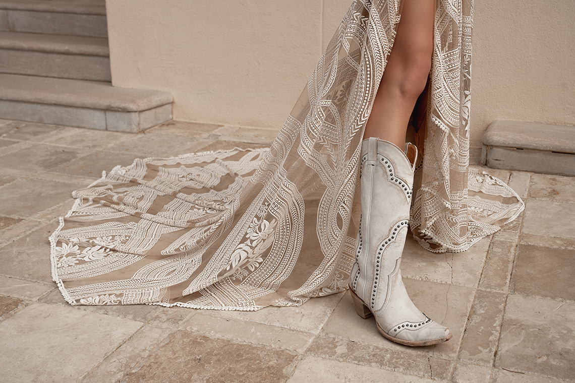 The Best Cowboy Boots to Wear With Your Wedding Dress – Boot Barn – Lovely Bride – Rue De Seine Bridal – Bridal Musings 17