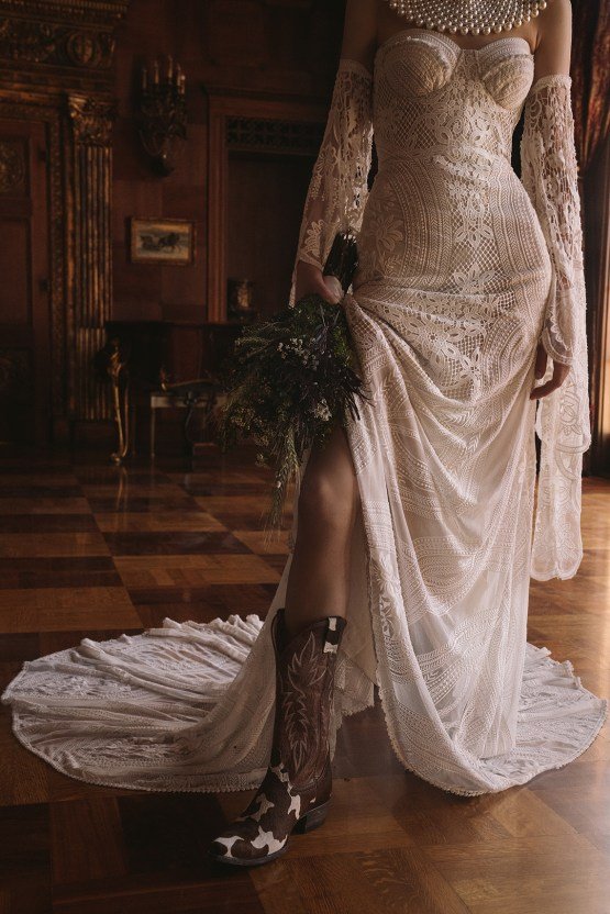 The Best Cowboy Boots to Wear With Your Wedding Dress – Boot Barn – Lovely Bride – Rue De Seine Bridal – Bridal Musings 19