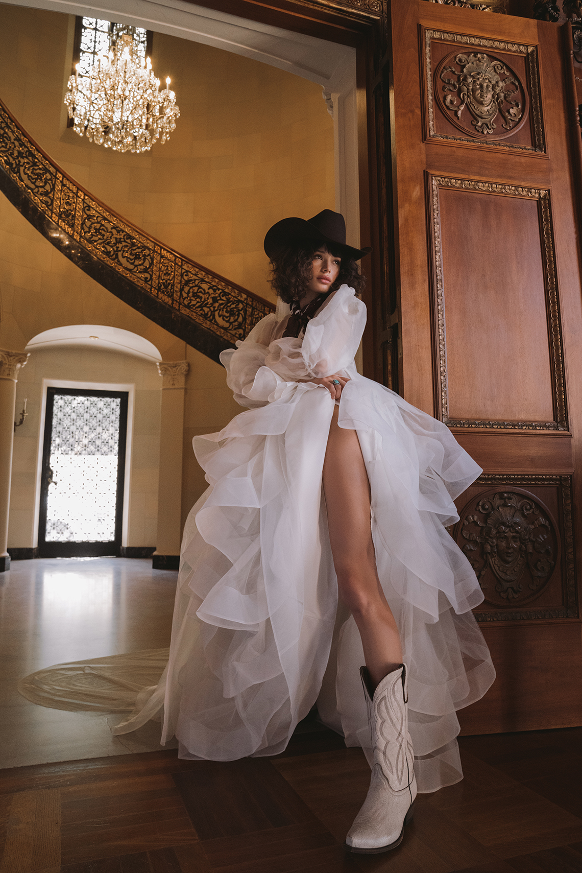 The Best Cowboy Boots to Wear With Your Wedding Dress – Boot Barn – Lovely Bride – Rue De Seine Bridal – Bridal Musings 5