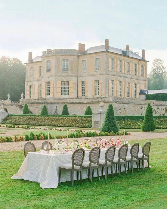Chateau de Villette – The Heritage Collection – Wedding Destination Quiz France or Italy – Bridal Musings 3