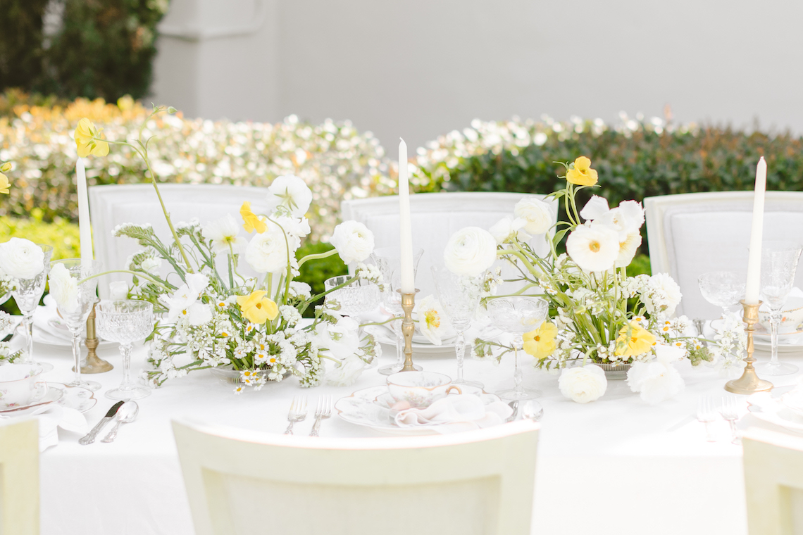 English Garden Afternoon Tea Wedding Inspiration – Lorin Kelly Photography – Bowties and Bouquets – Bridal Musings 1