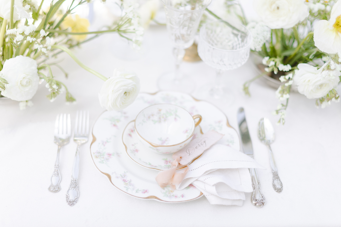 English Garden Afternoon Tea Wedding Inspiration – Lorin Kelly Photography – Bowties and Bouquets – Bridal Musings 2