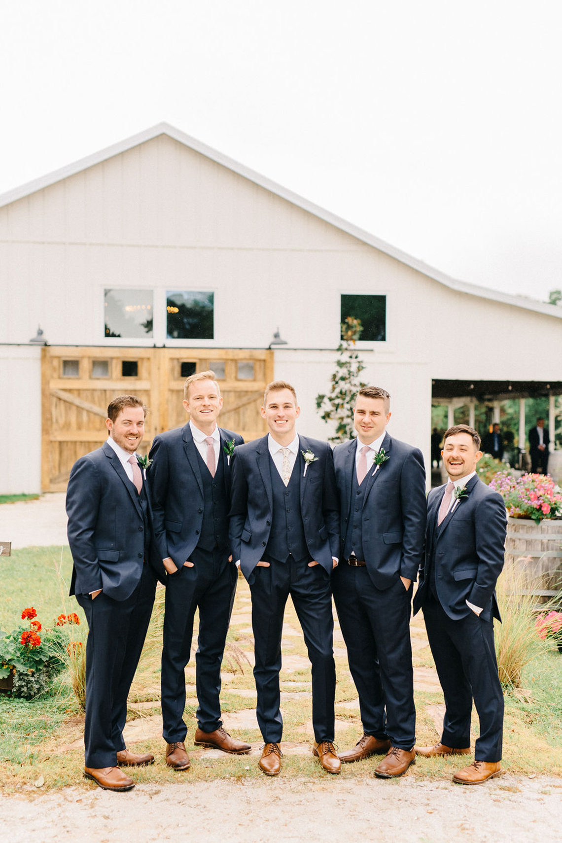 Rainy Casual Barn Wedding with Vietnamese Influence – Emma Anne Photography – The Mulberry – Bridal Musings 2
