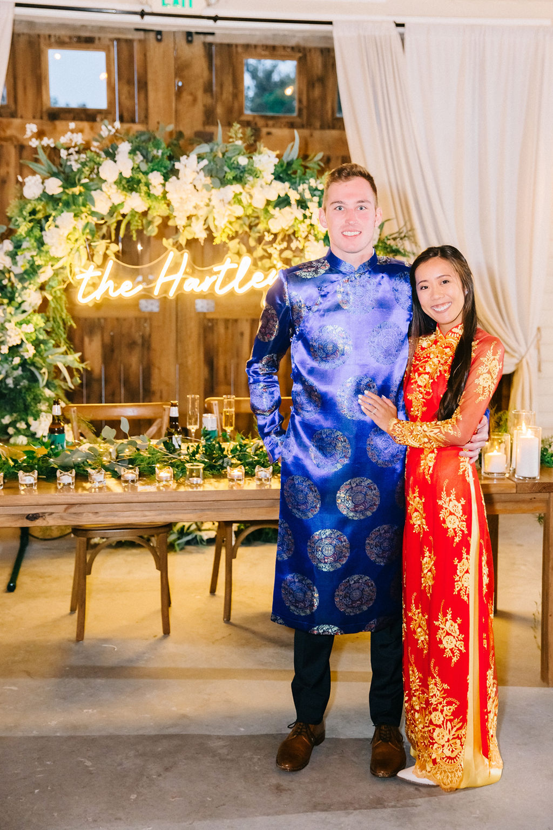 Rainy Casual Barn Wedding with Vietnamese Influence – Emma Anne Photography – The Mulberry – Bridal Musings 56