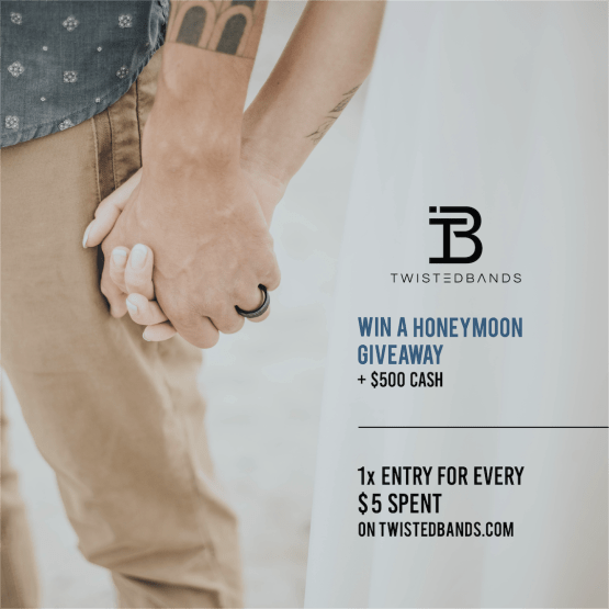 Twisted Bands Unique and Affordable Wedding Bands and Rings – Dream Honeymoon Giveaway – Bridal Musings 8