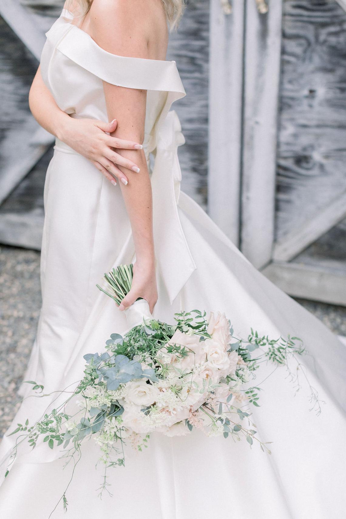 Whimsical Garden Wedding Inspiration – Danni LaRaia Photography– M and D Farm – Bridal Musings 37