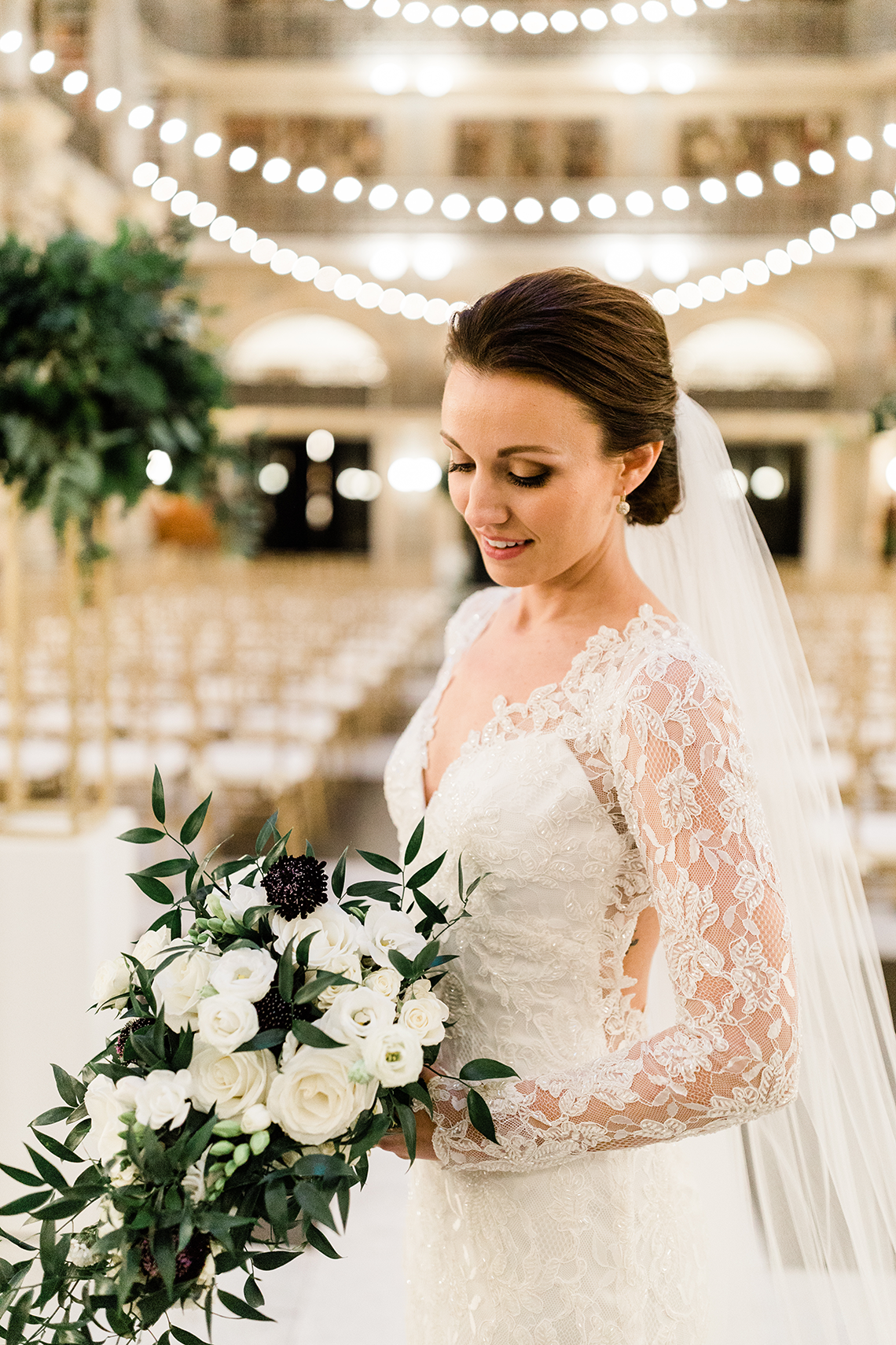 Glamorous Balitmore Library Wedding – George Peabody Library – Stephanie Axtell Photo and Video – Bridal Musings 52