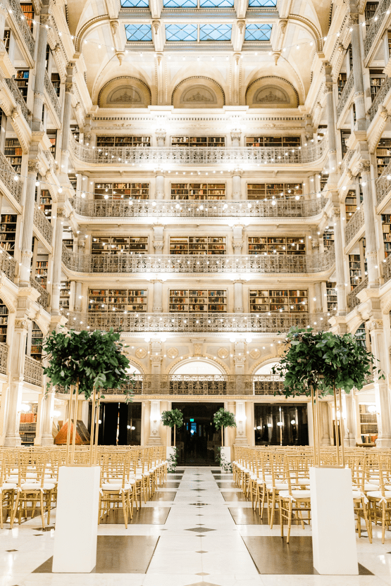 Glamorous Balitmore Library Wedding – George Peabody Library – Stephanie Axtell Photo and Video – Bridal Musings 55