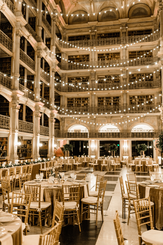 Glamorous Balitmore Library Wedding – George Peabody Library – Stephanie Axtell Photo and Video – Bridal Musings 66