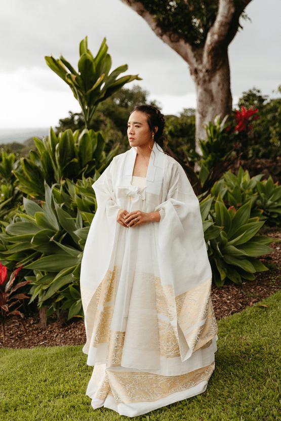 Korean Hawaiian Elopement with a Traditional Ceremony – Alyssa Luzaich Photography – Kukio Beach – Bridal Musings 22