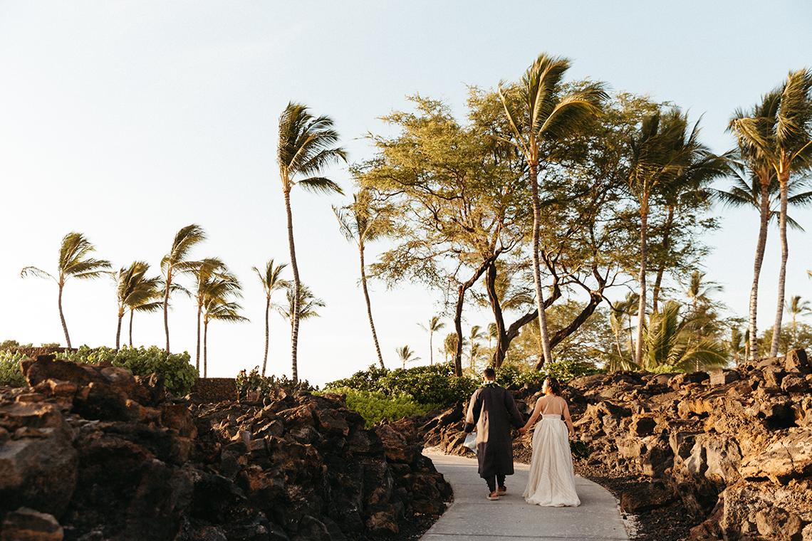 Korean Hawaiian Elopement with a Traditional Ceremony – Alyssa Luzaich Photography – Kukio Beach – Bridal Musings 4