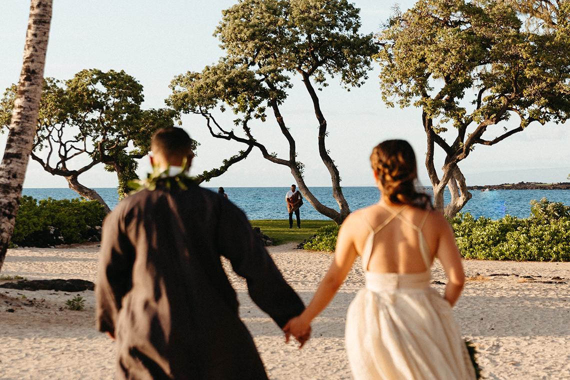 Korean Hawaiian Elopement with a Traditional Ceremony – Alyssa Luzaich Photography – Kukio Beach – Bridal Musings 5