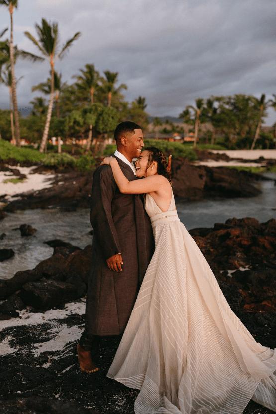 Korean Hawaiian Elopement with a Traditional Ceremony – Alyssa Luzaich Photography – Kukio Beach – Bridal Musings 60
