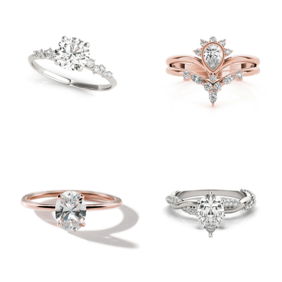 Mid-Range Budget Engagement Rings – How Much Does an Engagement Ring Cost – Lisa Robin Jewelry – Bridal Musings