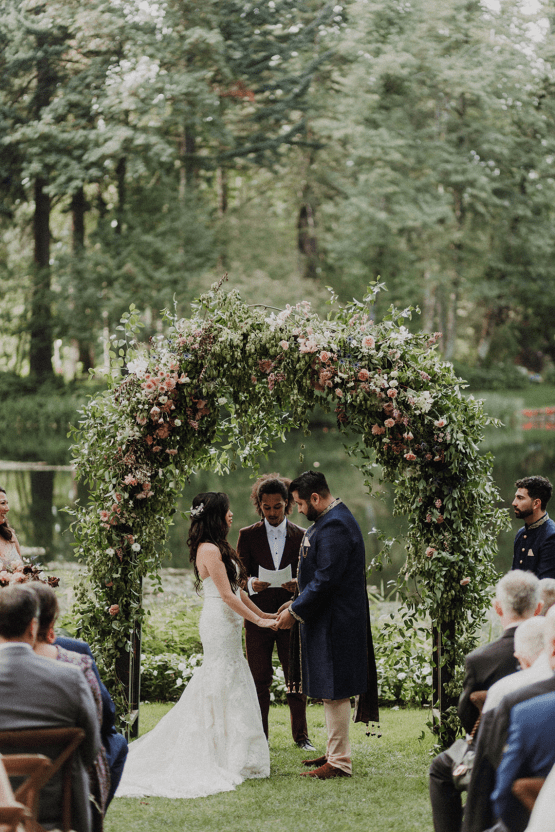 Multicultural Oregon Forest Wedding – Christy Cassano – Bridal Veil Lakes – Indian and Kiwi Influence – Bridal Musings 26