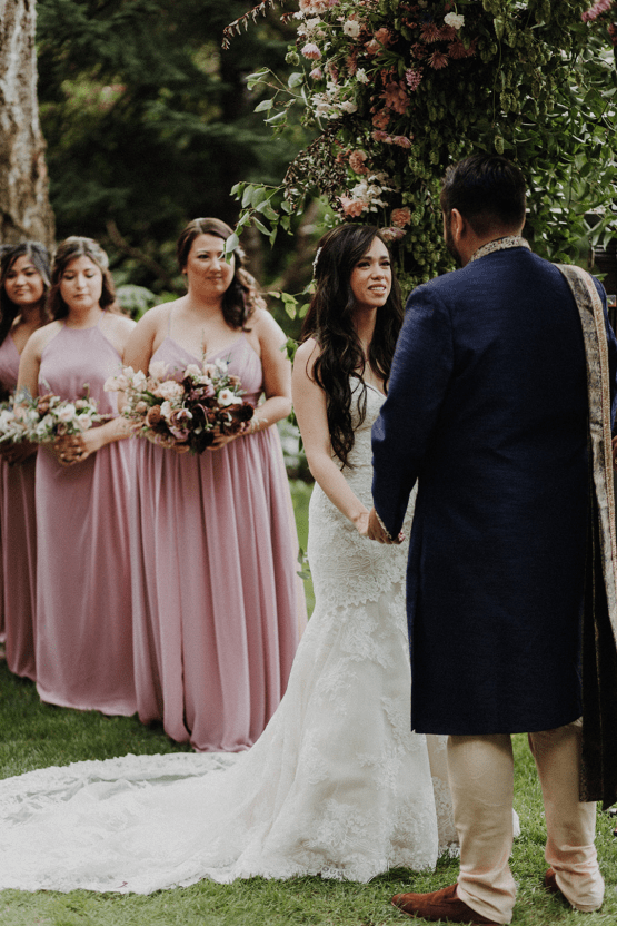Multicultural Oregon Forest Wedding – Christy Cassano – Bridal Veil Lakes – Indian and Kiwi Influence – Bridal Musings 27
