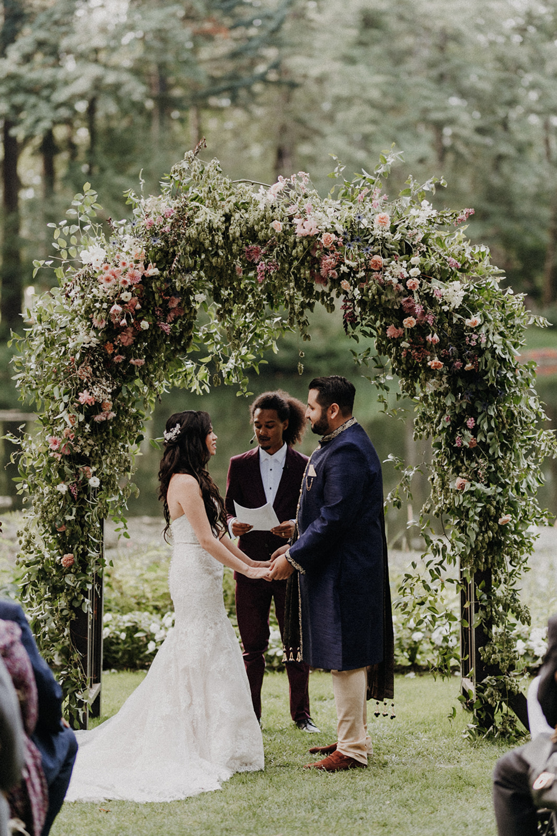 Multicultural Oregon Forest Wedding – Christy Cassano – Bridal Veil Lakes – Indian and Kiwi Influence – Bridal Musings 29