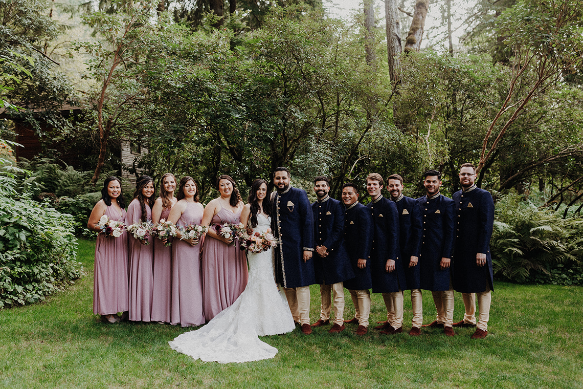 Multicultural Oregon Forest Wedding – Christy Cassano – Bridal Veil Lakes – Indian and Kiwi Influence – Bridal Musings 3