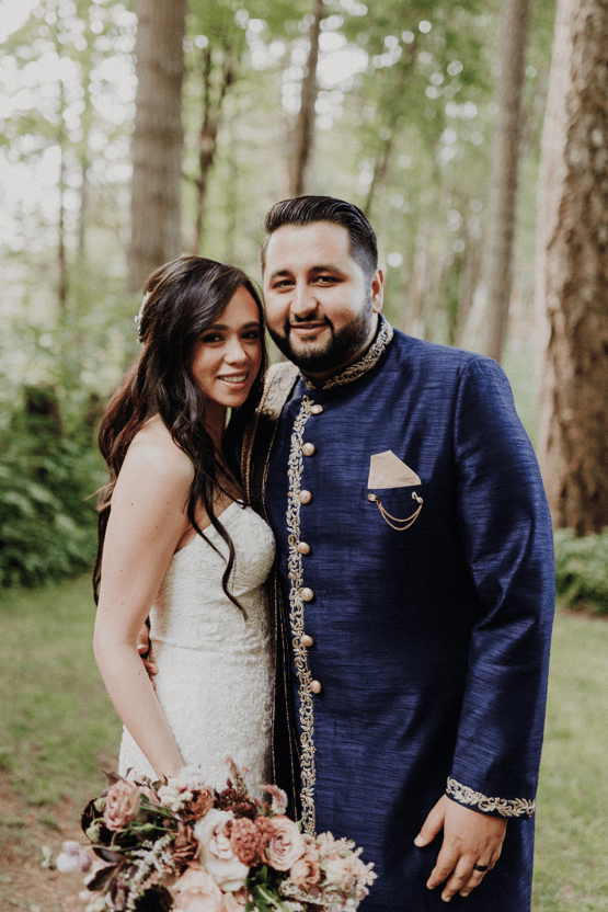 Multicultural Oregon Forest Wedding – Christy Cassano – Bridal Veil Lakes – Indian and Kiwi Influence – Bridal Musings 46