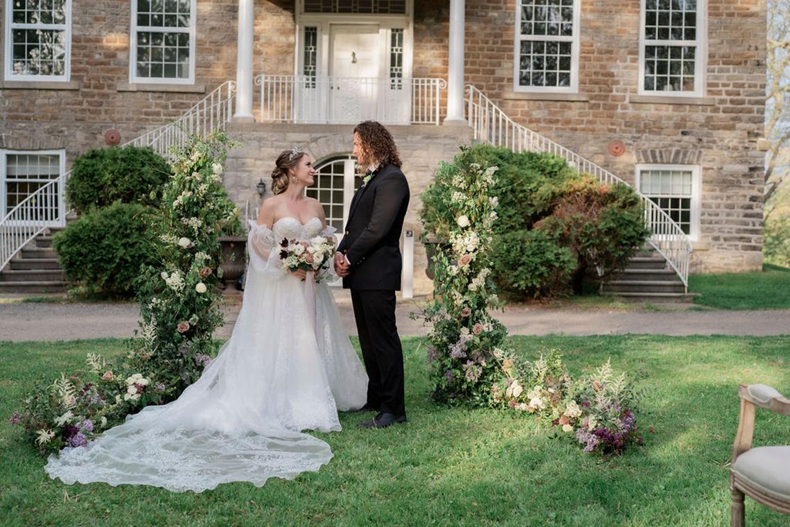 Romantic Willowbank Mansion Toronto Wedding Inspiration – Lisa Vigliotta Photography – Nobl Events – Bridal Musings 66
