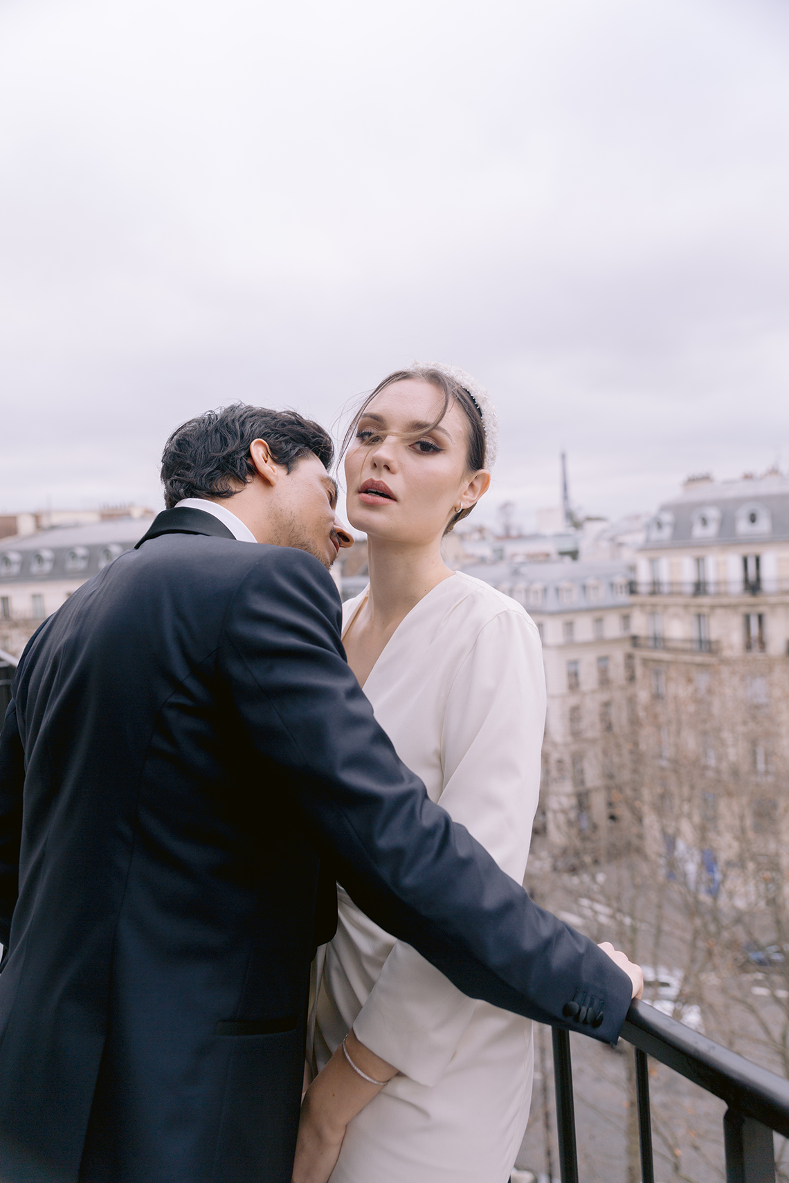 Sexy and Stylish Parisian Elopement Inspiration – Hotel Fauchon Paris – Laura Zorman – Bridal Musings 12