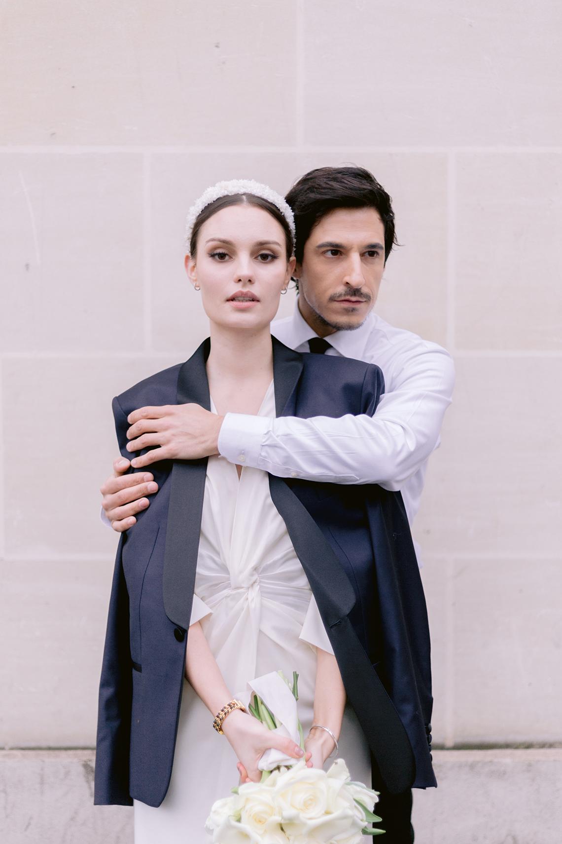 Sexy and Stylish Parisian Elopement Inspiration – Hotel Fauchon Paris – Laura Zorman – Bridal Musings 25