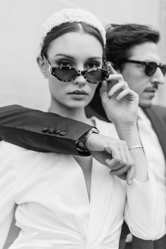 Sexy and Stylish Parisian Elopement Inspiration – Hotel Fauchon Paris – Laura Zorman – Bridal Musings 33