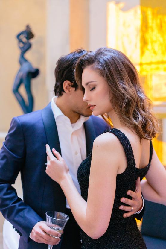 Sexy and Stylish Parisian Elopement Inspiration – Hotel Fauchon Paris – Laura Zorman – Bridal Musings 8
