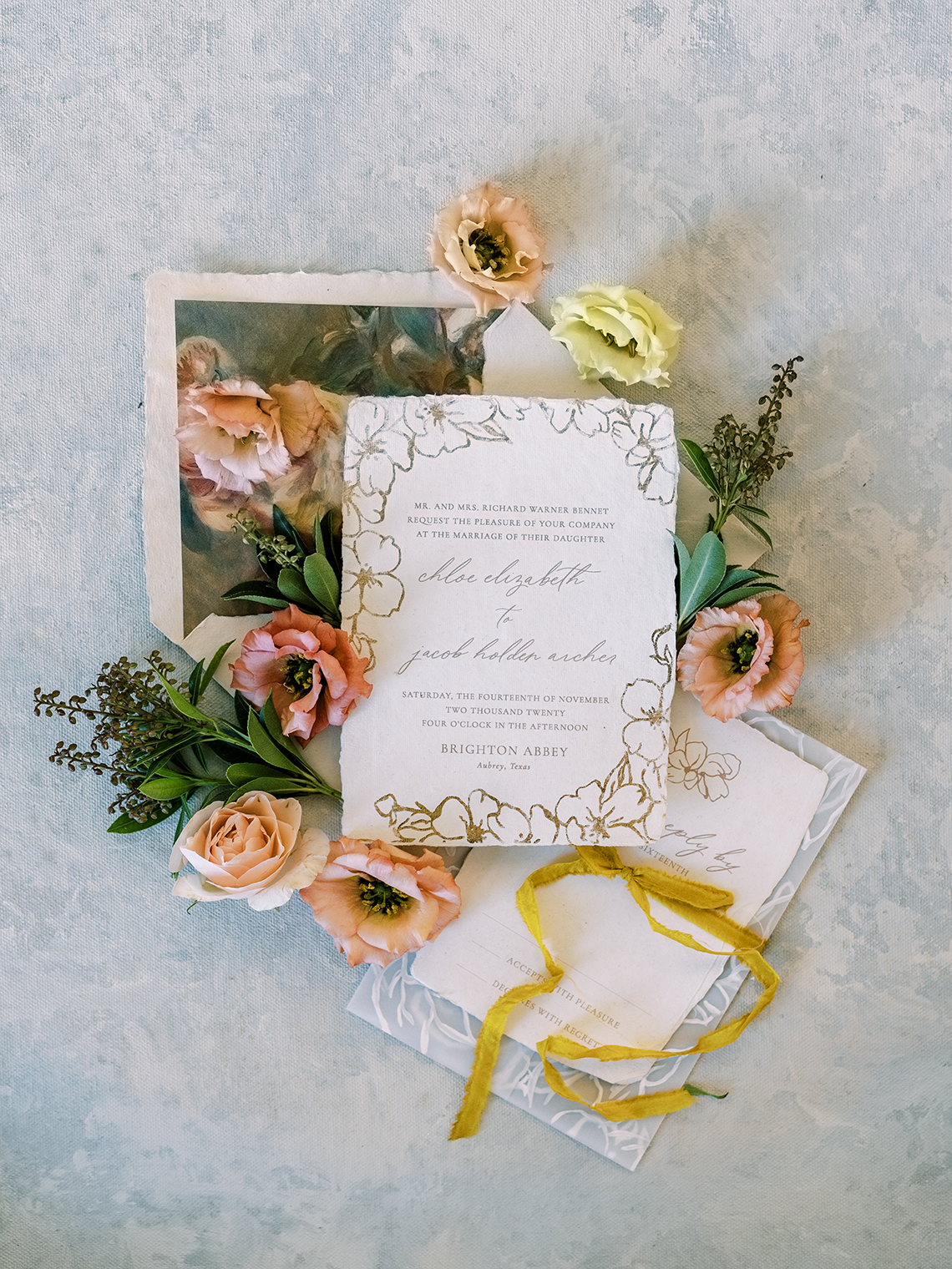 Stunning Fall Florals Wedding Inspiration – Amy Odom Photography – Brighton Abbey – Bridal Musings 37