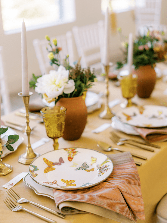 Stunning Fall Florals Wedding Inspiration – Amy Odom Photography – Brighton Abbey – Bridal Musings 4