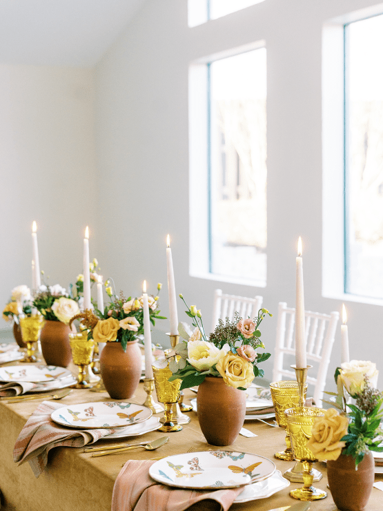 Stunning Fall Florals Wedding Inspiration – Amy Odom Photography – Brighton Abbey – Bridal Musings 50