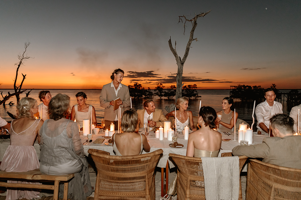 Stunning Mozambique Beach Wedding at Sunrise – Sussurro – Ayeh Photography – Bo and Luca – Bridal Musings 5